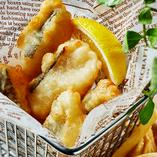 鱈のフィッシュ&チップス