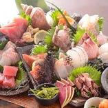 「旬」を追求。横浜市場、湘南の漁港から毎日仕入れます。