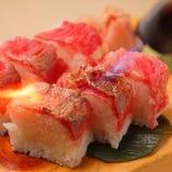 黒毛和牛の炙り棒寿司