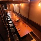 宴会に◎個室は4~最大50名様まで人数に合わせてご用意いたします!!