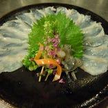 新鮮な魚貝類をコース料理でどうぞ!