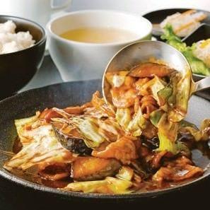 暖龍で人気の本格中華料理を 気軽に味わえるセットプラン!