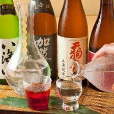 日本酒・焼酎と蟹の相性は抜群!
