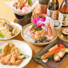 蟹料理で特別な時間を・・・