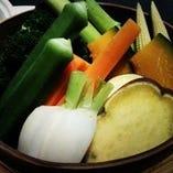 自社の狛江農場での取れたて野菜【国産】