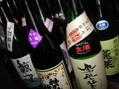 メニュー以外の日本酒も…