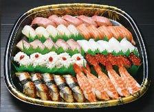 旬の本格的手握り寿司