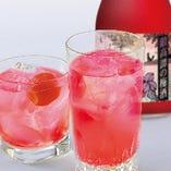 鍛高譚梅酒