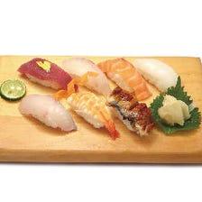新鮮魚を使用した握り寿司