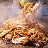 自店゛茹で上げ生麺゛はリピーター続出中また食べたくなる゛味゛