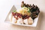 【おすすめやねん】豆腐の和風梅しらすサラダ