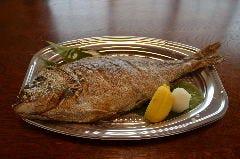 お祝い用 鯛の塩焼き*数日前にご予約が必要です