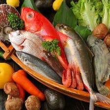 豊洲より毎日直送される季節の鮮魚