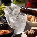 本格焼酎10種以上!元居酒屋ですから、お酒のラインナップは本気です!