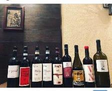 正統派から自然派ワインまで種類豊富