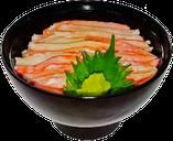 カニめし丼