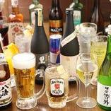 【ぐるなびクーポン】本格焼酎や地酒も飲める♪コース飲み放題をプレミアムプランにアップグレード