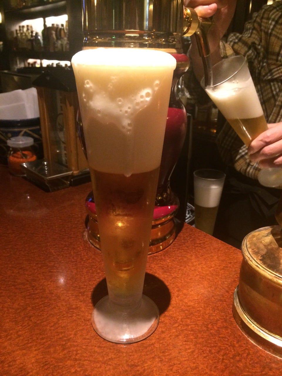 ドラフトマスターのビールが美味しいと評判!