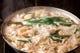 「黒の炊き餃子」自家製豚骨スープは最後の一滴までどうぞ!!