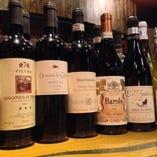 マキコレワインを含めた美味しいワインを多数ご用意♪