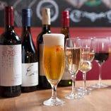 ワインは30種類以上取り揃えております!お肉との相性も抜群♪