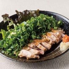 [120分飲放題]ごちそうコース12品~炭火焼鶏・もも肉のタタキも味わえる~クーポン利用⇒3500円
