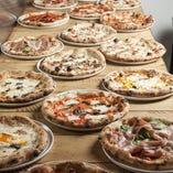 ピザはほとんどテイクアウトOK♪ハーフ&ハーフも可能です☆