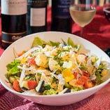 彩り野菜のコブサラダ