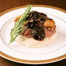 牛ヒレ肉とフォアグラのロッシーニ~本格的なペリグーソースで~