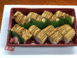 蒸し穴子棒寿司