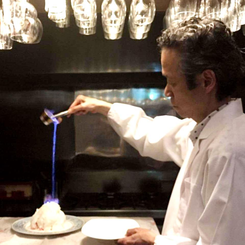 記念日には炎の演出ケーキサービス!