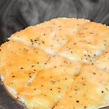 カリカリチーズのグリドル