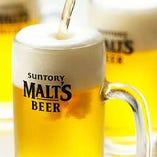 まずは皆さん!!ビールで乾杯!!
