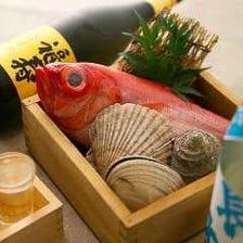 旬の鮮魚を漁港より直送で