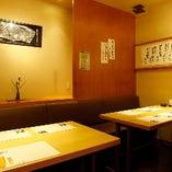 テーブル席(6~9名様)