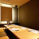 【個室】 シーンで選べる大小様々な個室を完備しております