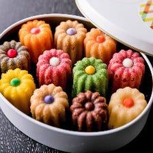 彩鮮やかなオリジナル焼菓子ミタン