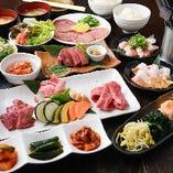 コースは選りすぐりの逸品料理を集めており、お得感満載です。