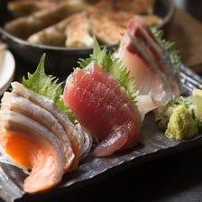 九州料理や刺身など多彩な絶品料理