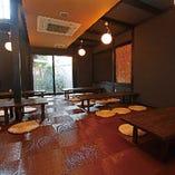 【座敷スペース独占】広々座敷を独占で個室利用可能。最大30名様までの大人数宴会に