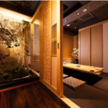 和の趣きが溢れる掘りごたつ個室