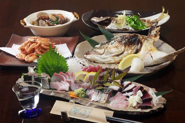 豊かな魚種を居酒屋らしい調理法で