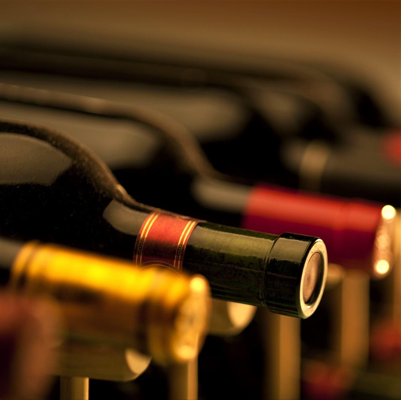 ソムリエがお好みのワインをアテンド