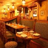 《レストランフロア》食べて、飲んで、語り合える♪ 各種宴会・誕生日会に◎(40席)