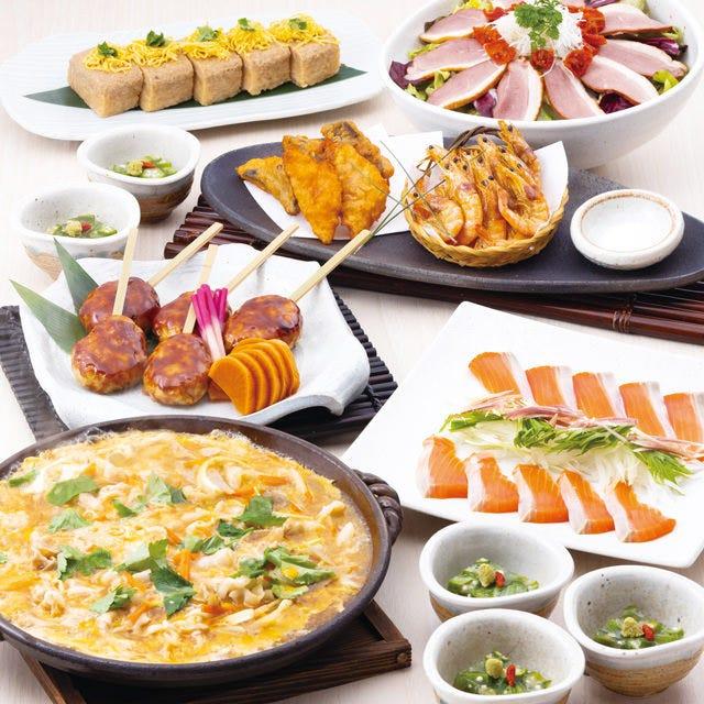 個室確約◆【鈴の音コース】2.5時間飲み放題付き~季節の料理を堪能~