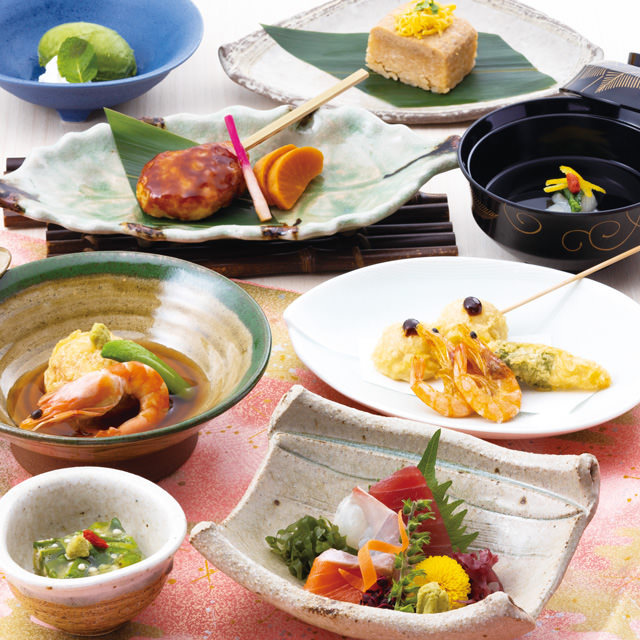 個室確約◆個食盛り宴会【雪月コース】2.5時間飲み放題付~個別のお皿にてご提供いたします♪~