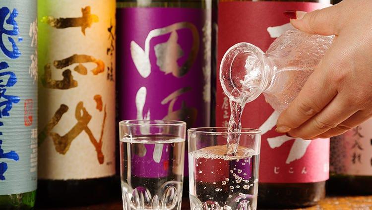 全国津々浦々100種類以上の地酒