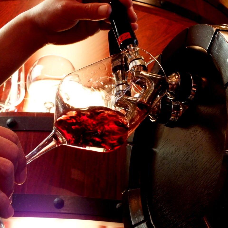 イタリア直送♪樽生ワインで♪