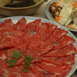 鍋会席(牛しゃぶ)