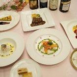 フランス料理の夕べ フルコース